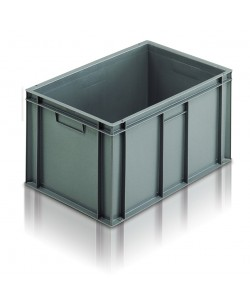 Solid Euro Stacking Container 600 x 400 x 235mm