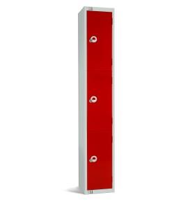 Three Door Steel Locker