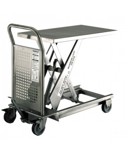 Stainless Steel Hydraulic Lift Table 500KG