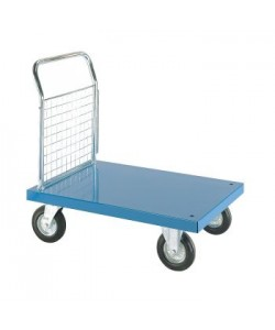 Coloured Platform Truck with Single Mesh End Panel