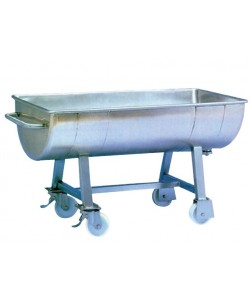 Stainless steel trough unit