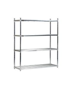 Zinc Plated Shelving - Wire Shelves