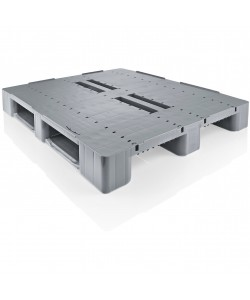 Semi perforated plastic pallet CRCS03
