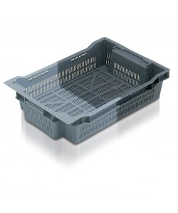 Stack / Nest container (perf) 600 x 400 x 118mm