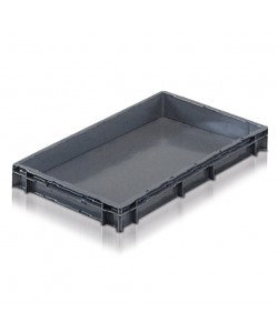Solid Euro Stacking Container 600 x 400 x 73mm
