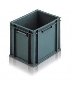 Solid Euro Stacking Container 400 x 300 x 319mm