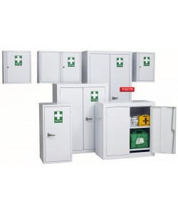 Large Double Door First Aid Cabinet