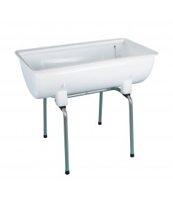 Plastic Trough and stand 100 Litres