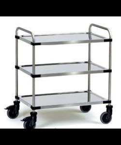 Stainless 3 Shelf Trolley SSTY3