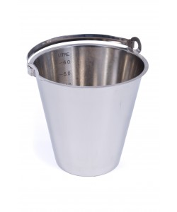 Stainless Steel Bucket 10 Litres