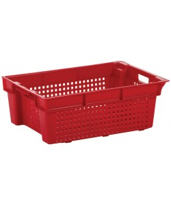 Stack / Nest container 600 x 400 x 200mm (perforated)