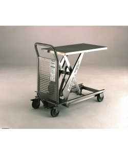 Stainless Steel Hydraulic Lift Table 200kg