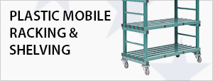 Plastic Mobile Racking & Shelving