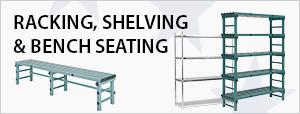 Racking, Shelving & Bench Seating