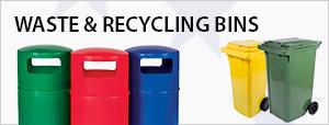 Waste & Recycling Bins