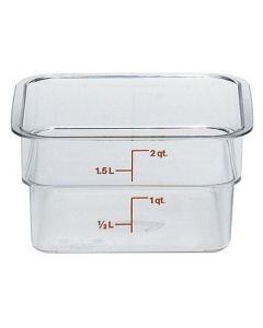 Polycarbonate Food Container 1.9 Litre - 2SFSCW