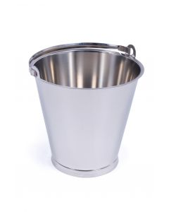 Stainless Steel Bucket 15 Litres - MBK15RF
