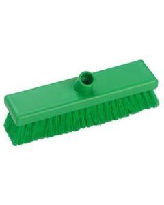 Green Sweeping Broom 305mm Soft Bristled - B849