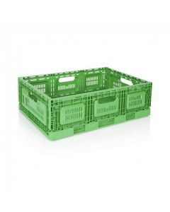 Green Collapsible Crate
