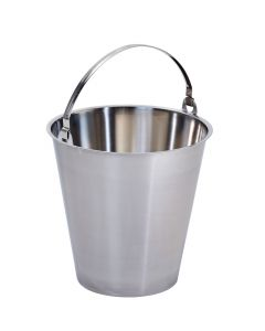 Stainless Steel Bucket 12 Litres - MBK12
