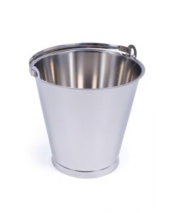 Stainless Steel Bucket 20 Litres - MBK20RF