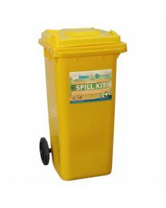 120 Litre Mobile Spill Kit - Aggressive Chemicals - SPK120C