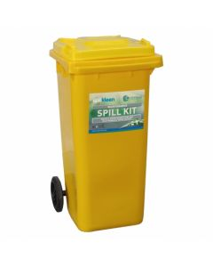 120 Litre Mobile Spill Kit - Non-Aggressive Liquids - SPK120M