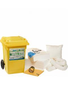 80 Litre Mobile Spill Kit - Non-Aggressive Liquids - SPK80M